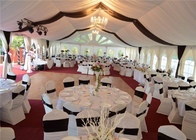 10 X 10 Transparent Marquee Event Tent With Sides Decorations Aluminum Frame