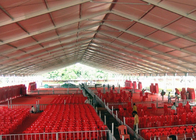 Customized Size Steel Structure Outdoor Event Tents For Exhibition Fairs / Trade Show