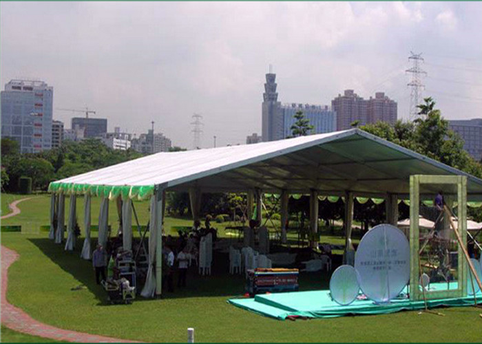 Aluminum Frame Marquee Party Tent For Garden Party / Wedding Party Sun Resistant