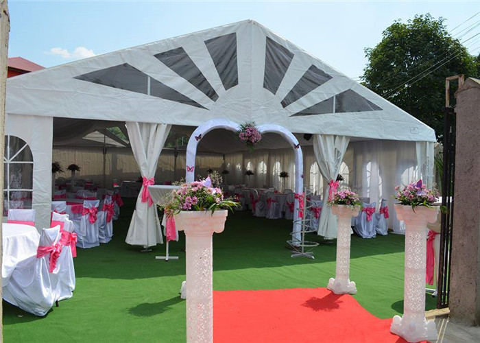 Waterproof 20 X 20m Large Wedding Party Tent , Outdoor Wedding Reception Tent