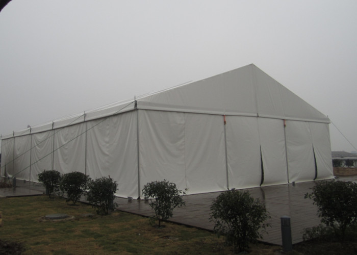 500 People Durable A Frame Outdoor Event Tent For Church Activities Pvc Cover Fabric