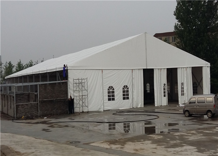 Fashion Modern Clear White Outdoor Event Tent , Portable Event Canopy Tent