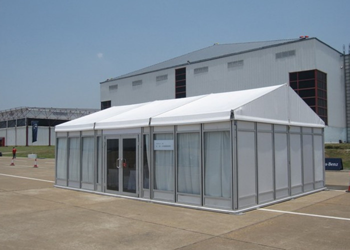 100 People Small Glass Wall Marquee Garden Party Tent For Wedding Anniversary